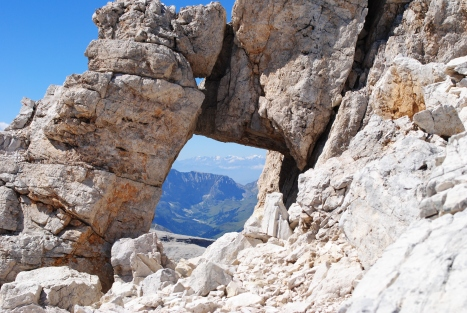 Arch, Dolomiten, Sella Gruppe