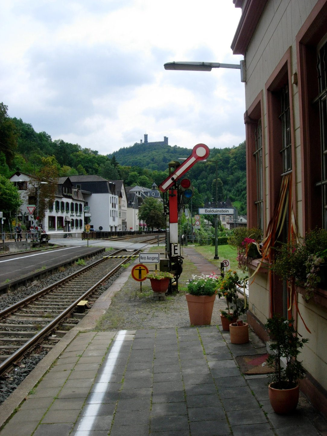 A small station in Germany