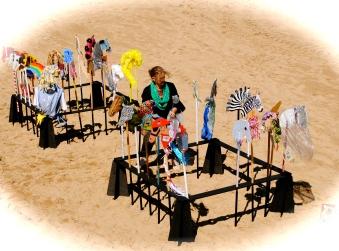 Masks on the Beach