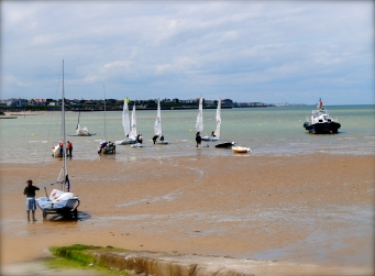 Boats in Margate Harbour