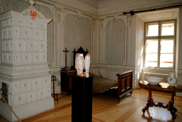 Exhibition room, Brüneck castle