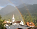 Double Rainbow over La Valle
