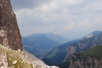 From Kolfuschg, past Gran Cier