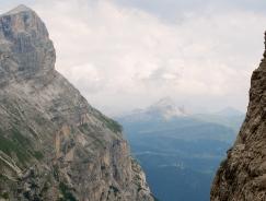 Col De Lana in the distance