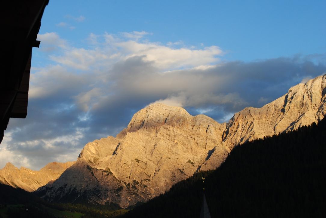 Evening light over Zehner