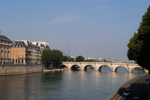 La Seine à Paris