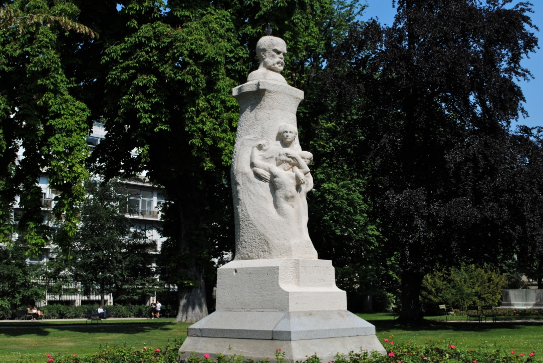Paul Verlaine au jardin du Luxembourg