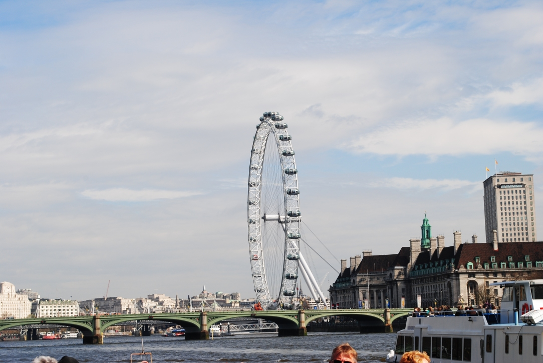 The London Eye & Westminster Bridge