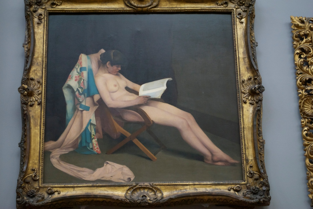 Théodore Roussel: the Reading Girl (1886)