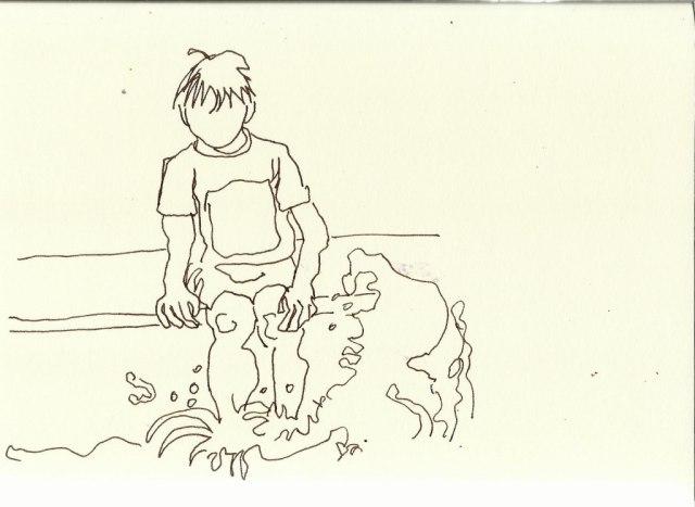 Britzer Garten (c) Zeichnung von Susanne Haun