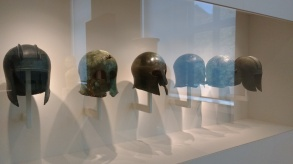 Archaic Greece bronze helmets