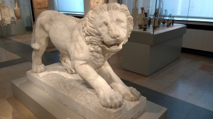 Funeral lion